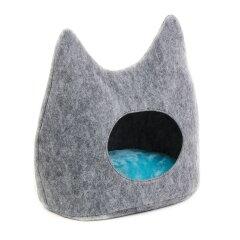 Домик Pet Fashion «Дрим» 44 см / 28 см / 45 см (серый)