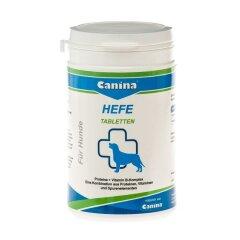 Дрожжевые таблетки с энзимами и ферментами для собак Canina «Hefe»