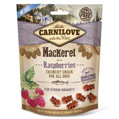 Лакомство для собак Carnilove Mackerel with Raspberries 200 г (для иммунитета)