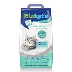 Наполнитель туалета для кошек Biokat's Bianco Fresh 5 кг (бентонитовый)