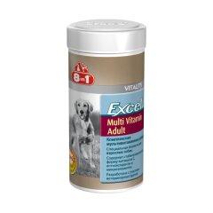 Витамины для взрослых собак 8in1 Excel «Multi Vitamin Adult» 70 таблеток (мультивитамин)