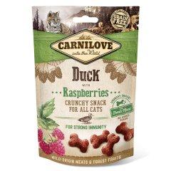 Лакомство для кошек Carnilove Duck with Raspberries 50 г (для иммунитета)
