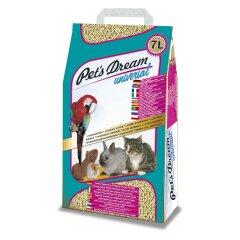Гигиенический наполнитель Pet's Dream «Universal» 7 л (древесный)