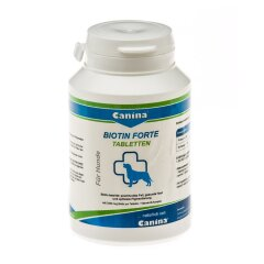 Витамины для собак Canina «Biotin Forte»