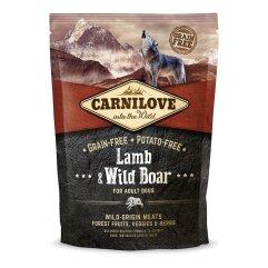 Сухой корм для взрослых собак всех пород Carnilove Lamb & Wild Boar 1,5 кг (ягненок и кабан)