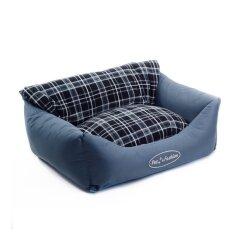 Лежак Pet Fashion «Деми» 66 см / 52 см / 24 см (синий)