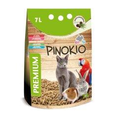 Гигиенический наполнитель Comfy Pinokio 7 л (древесный)