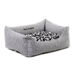 Лежак Pet Fashion «Жасмин» 52 см / 40 см / 17 см (серый)
