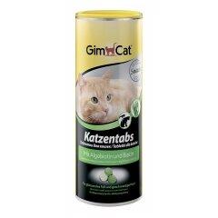 Лакомство для кошек GimCat Katzentabs Algobiotin & Biotion 425 г (для кожи и шерсти)