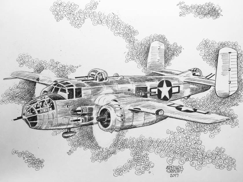 B-25 MitchellMarshallRamsey