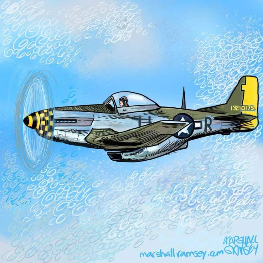 P-51 MustangMarhsallRamsey