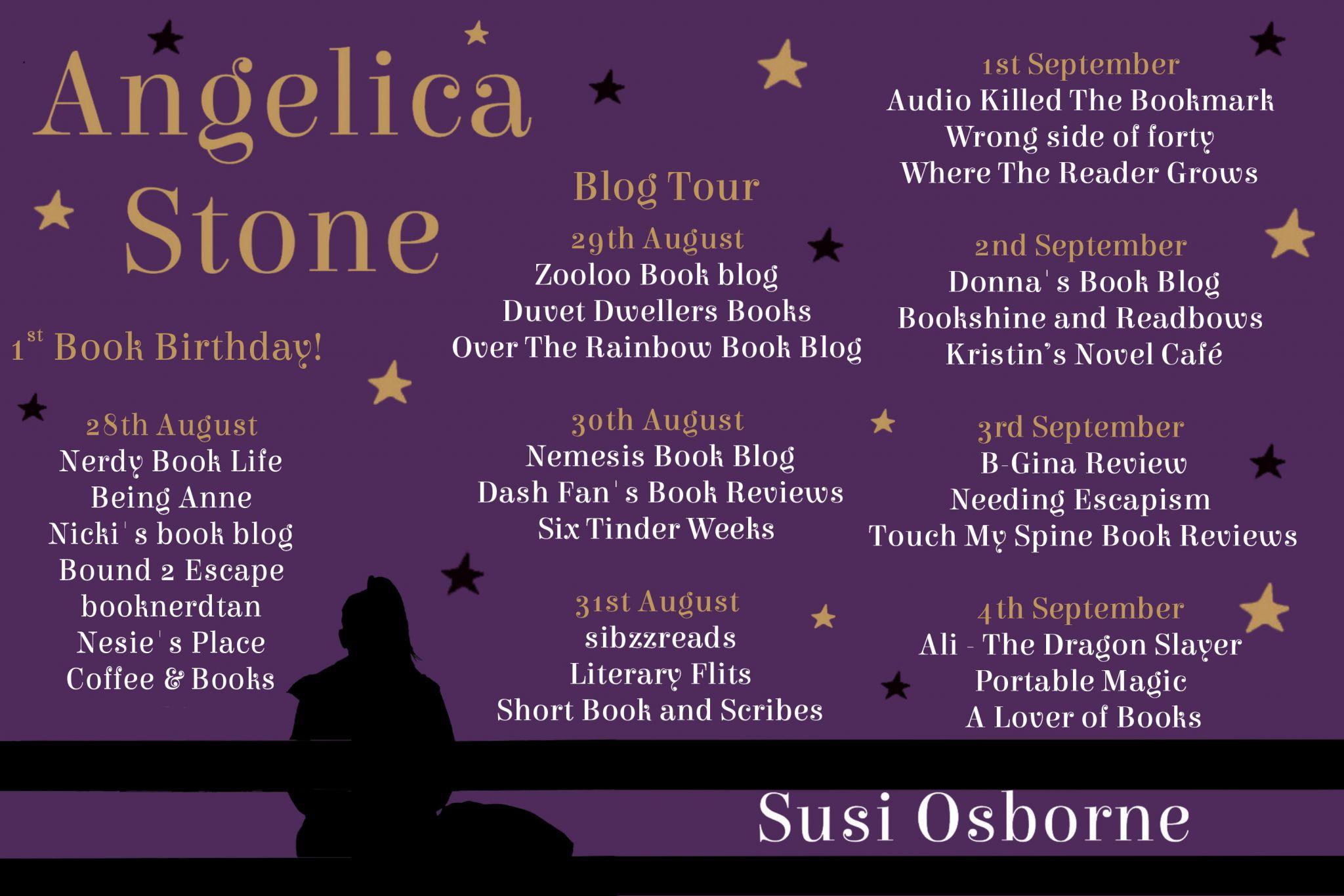 #BookReview of Angelica Stone by Susi Osborne @susiosborne @rararesources