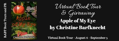 #BookReview of Apple of My Eye by Christine Barfknecht @CABarfknecht  @RABTBookTours