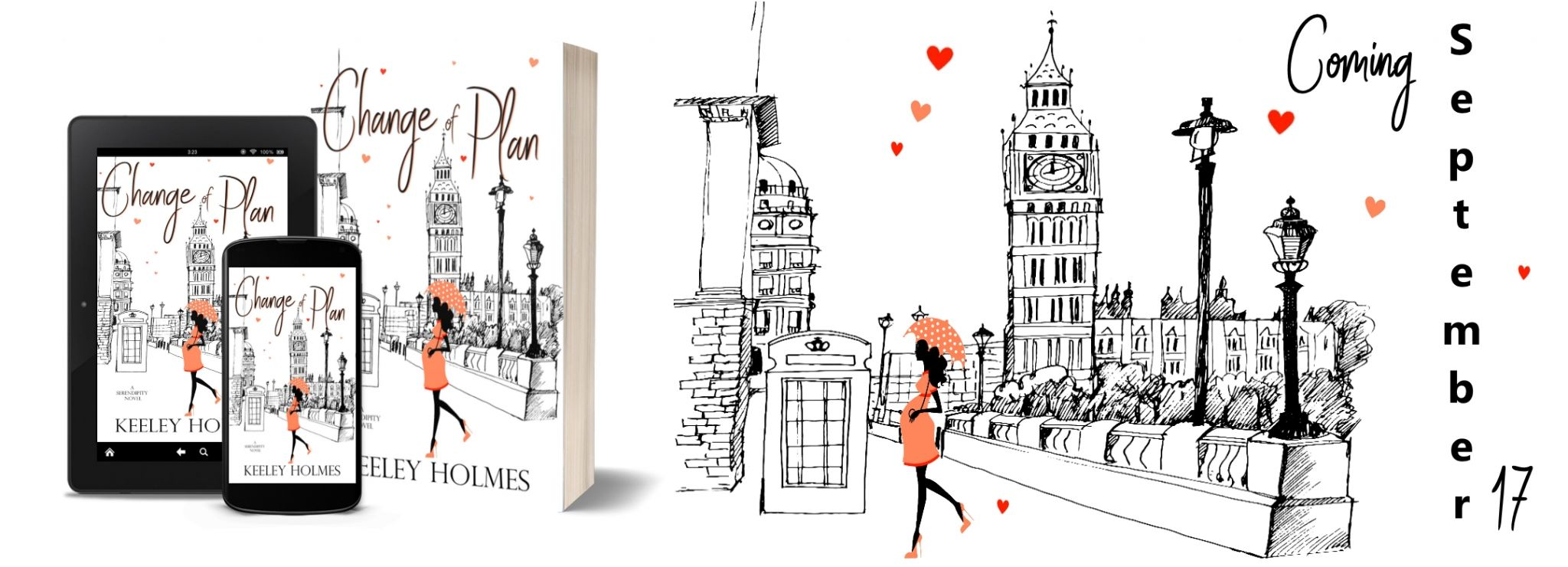#CoverReveal of Change of Plan by Keeley Holmes @keeley_holmes86 @xpressotours