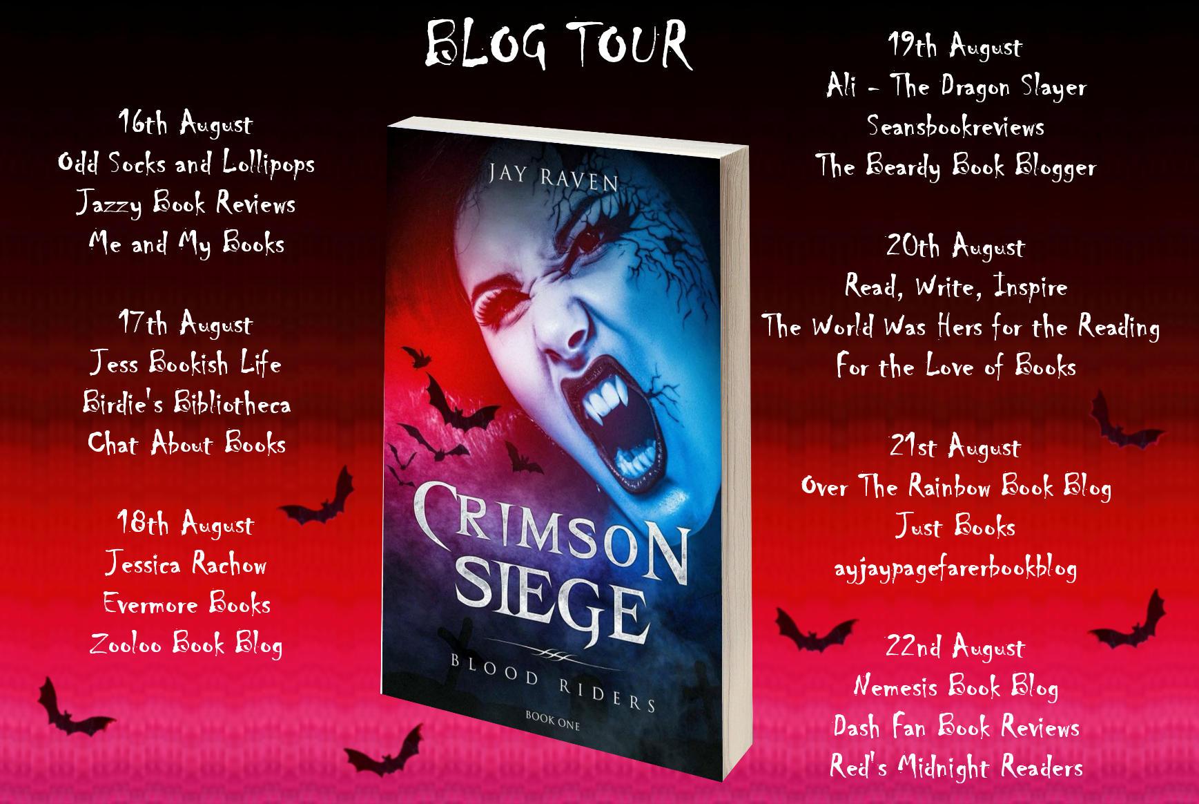#Spotlight of Crimson Siege by Jay Raven @JayRavenAuthor @rararesources