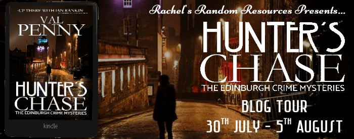 #BookReview of Hunter's Chase by Val Penny @valeriepenny @rararesources @crookedcatbooks