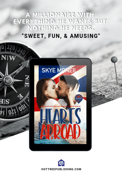 #ReleaseDayBlitz and #Excerpt of Hearts Abroad by Skye McNeil @skye_mcneil7 @hottreepubs