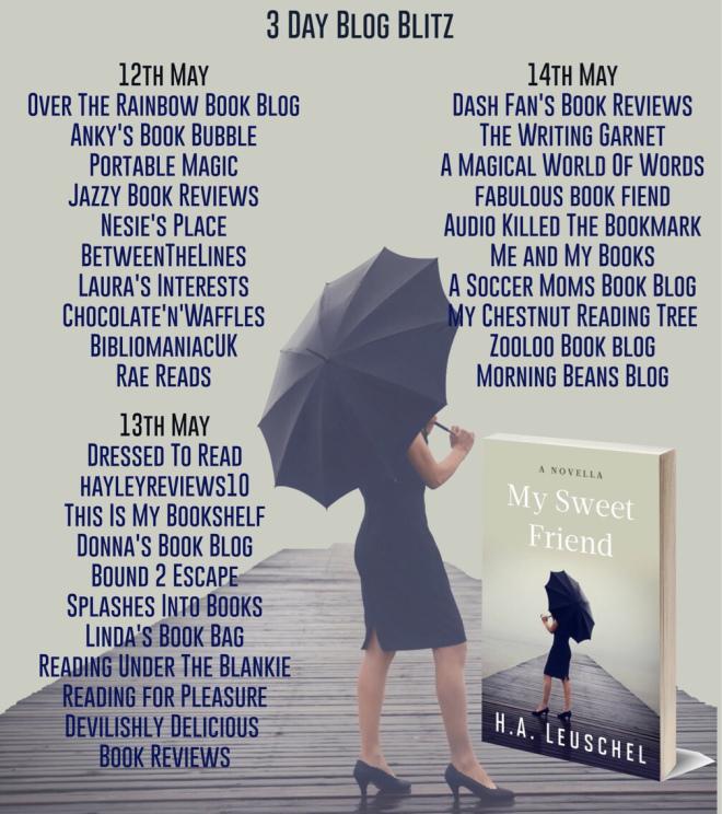 #BookReview - My Sweet Friend by H.A Leuschel @HALeuschel @rararesources