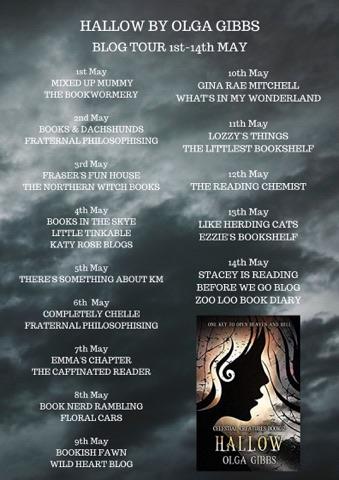 #BookReview of Hallow by Olga Gibbs @olgagibbsauthor @FrasersFunHouse #CelestialCreatures #OlgaGibbs #HallowBook #Hallow