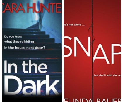 *MiniReview* Snap in the Dark! Snap by Belinda Bauer & In the Dark by Cara Hunter #BookReview