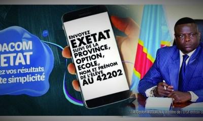 RDC : Publication des résultats de l'EXETAT, le monopole de Vodacom n'existe plus depuis l'an dernier ! 7