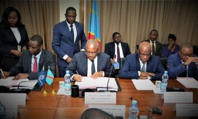 RDC : Trois accords de financement pour 280 millions USD signés entre le Gouvernement et la Banque Mondiale
