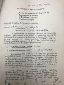 RDC: Aubin Minaku est-il complice de la mauvaise gestion des finances publiques? 3