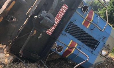 RDC : SCTP , deux locomotives culbutent entre Mbanza-Ngungu et Loma (Communiqué) 10