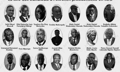 RDC : présidentielle, aucun candidat n'a révélé son trésor de campagne 12
