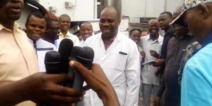 RDC: l'hôpital Moyi Mwa Tongo exige d'être dédommagé par la société Fab Congo ! 2