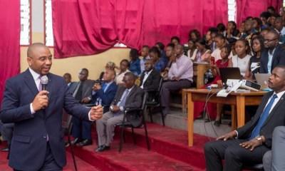 RDC : gestion du fret, Sayiba explique les quatre axes aux étudiants de l'UPC ! 22