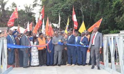RDC : le chef de l'Etat inaugure le pont Lubuya long de 30 mètres 22