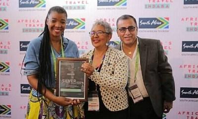 Durban : Tam-Tam Guide RDC reçoit le prix «argent» du South african tourism 25