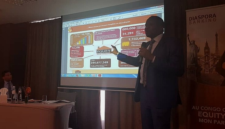 RDC: Equity Bank promeut son offre «Diaspora Banking» à Bruxelles 3