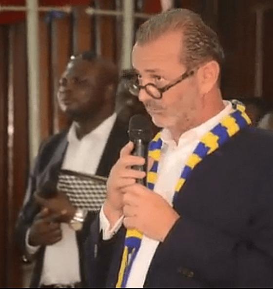 RDC : Pascal Beveragi, le nouveau président de St Eloi Lupopo 1