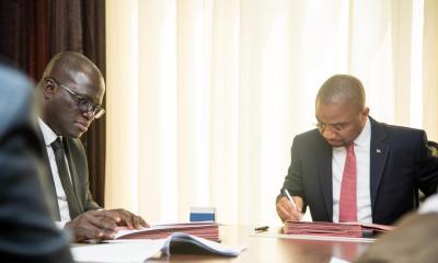RDC: l'accord Ogefrem-Maersk matérialise la contrainte de souscription de la FERI 21