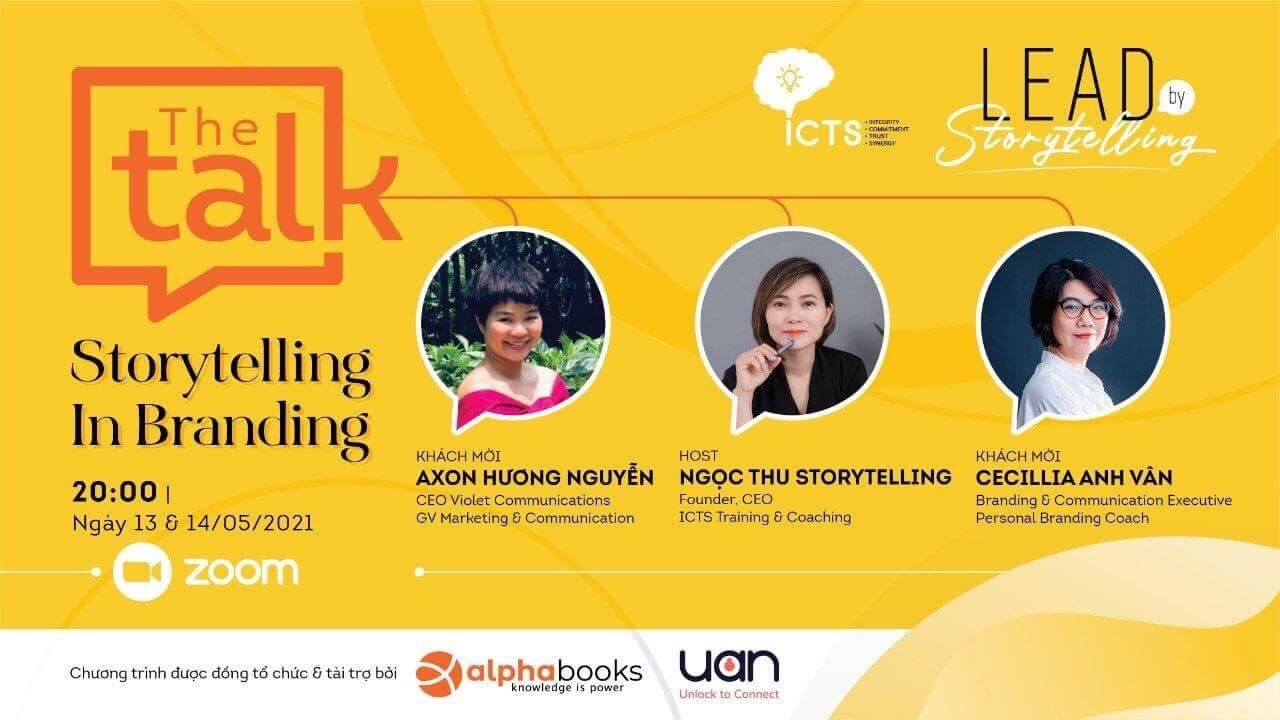 Alpha Books lựa chọn Zoom tổ chức hội thảo: Storytelling in Brand