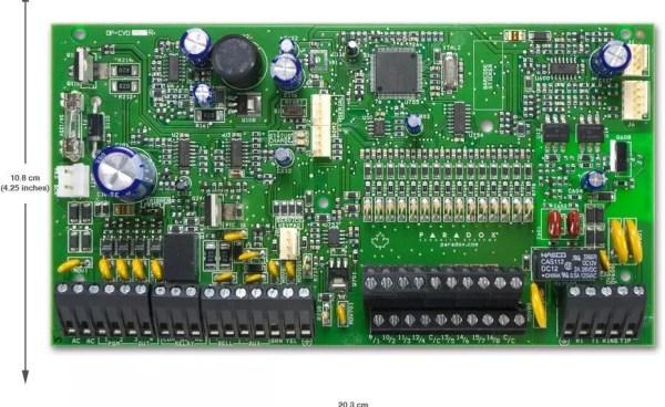 SP7000 alarm centrala Paradox