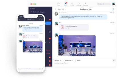 Envío de mensajes y documentos a través de zoom