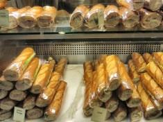 Sandwiches at Le Panier