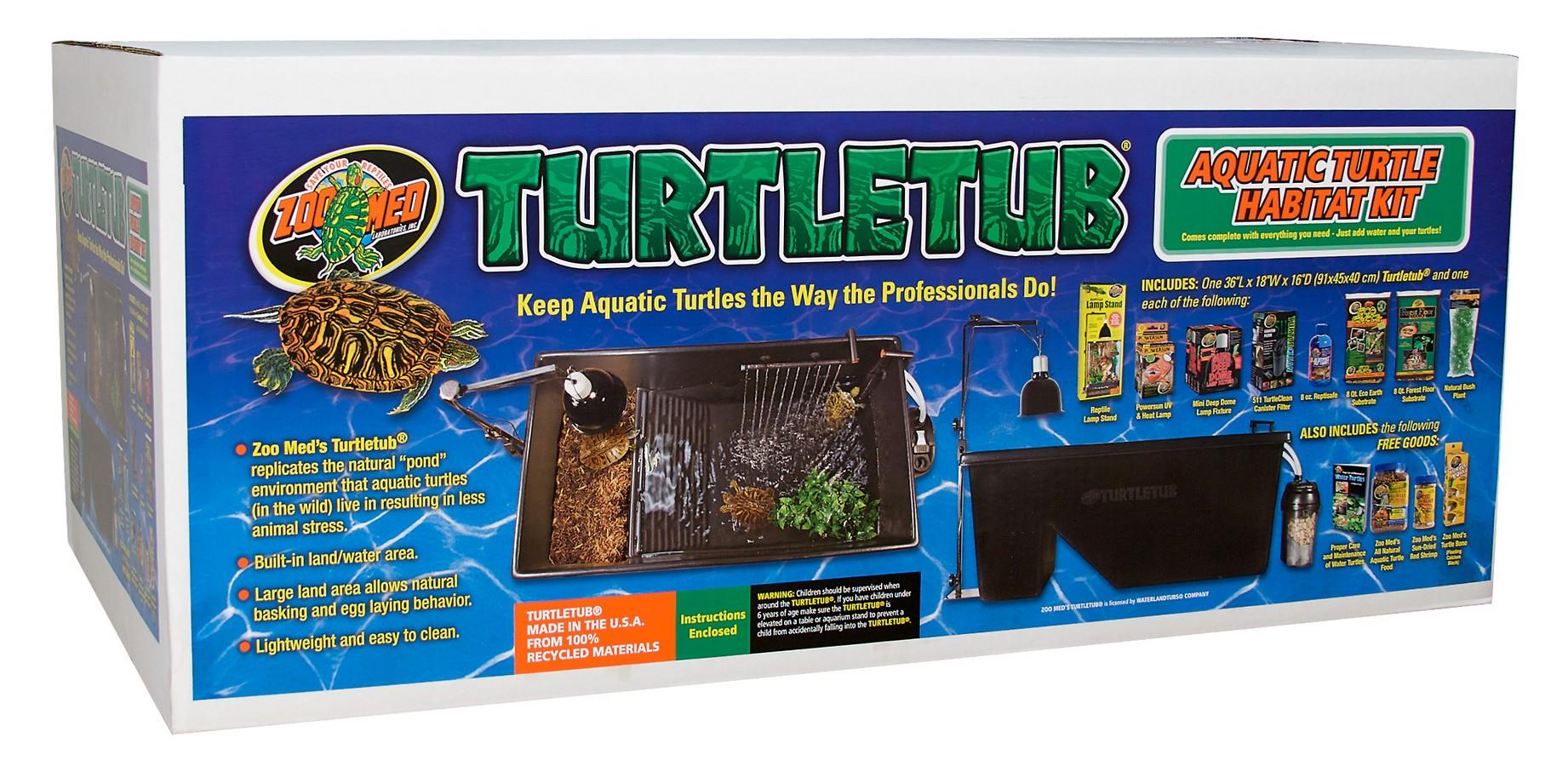 turtletub kit zoo med laboratories inc