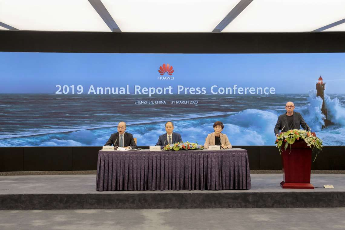 Huawei 2019 Annual Report Press Conference