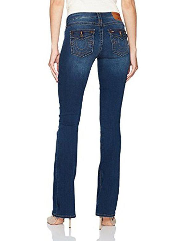 True Religion Bootcut Jeans Becca Mid Rise Zoomer Zones 2