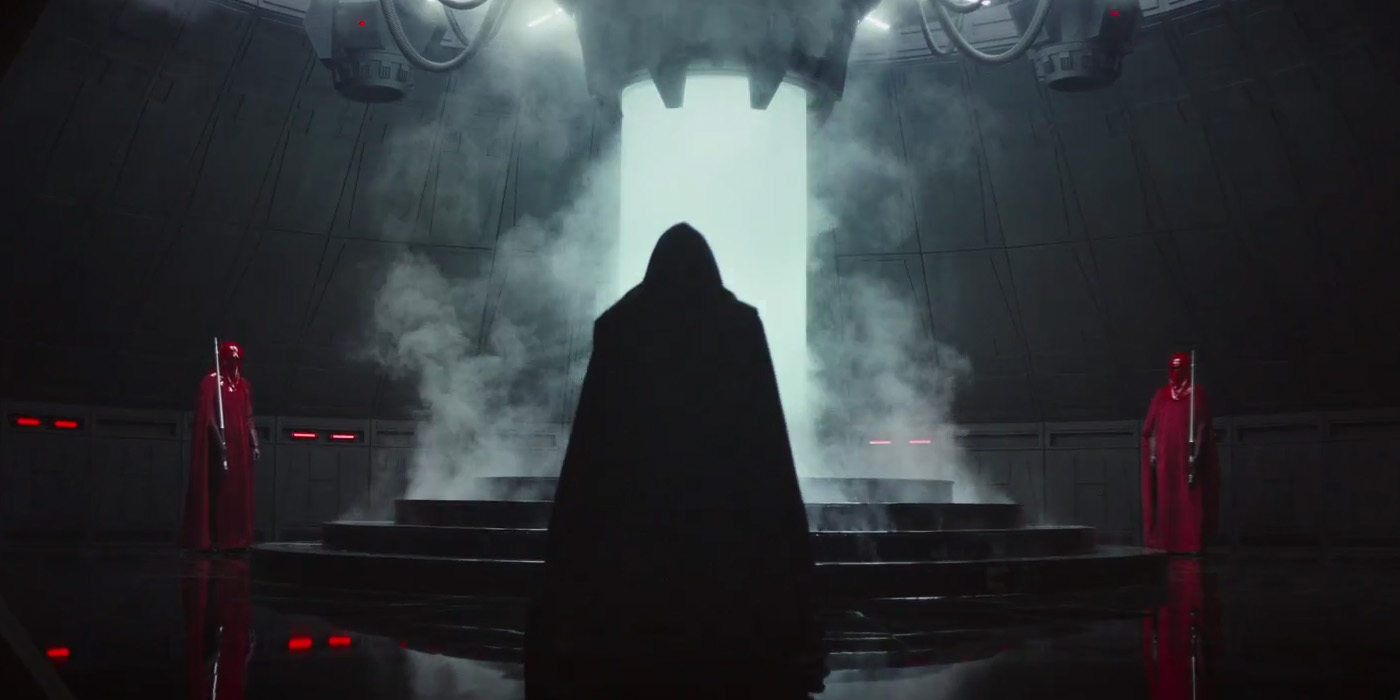 star wars rogue one trailer sith