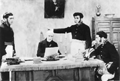 fotograma de viva mexico de 1916