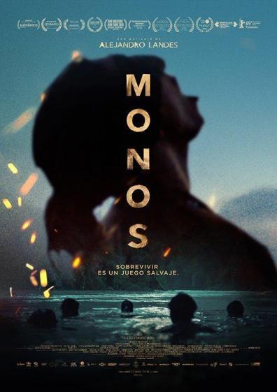 monos poster pelicula