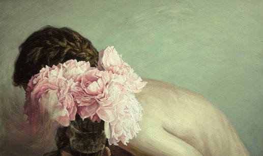 helene delmaire still life with flowers