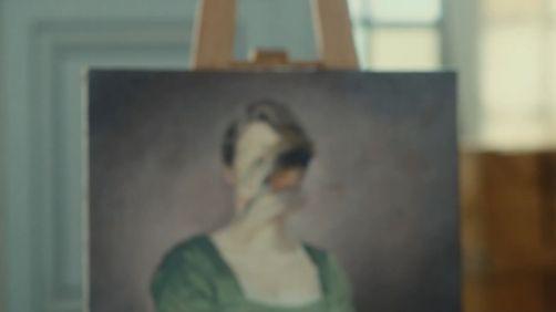 retrato de una mujer en llamas 2