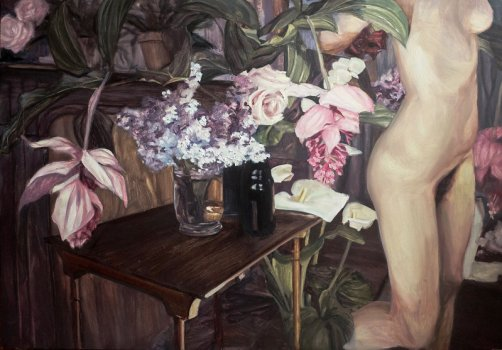 still life with flowers ii 2014
