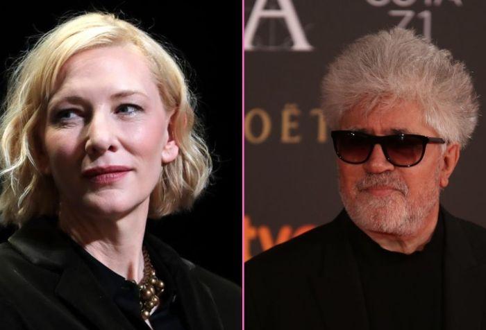 Cate Blanchett y Pedro Almodóvar podrían colaborar en un nuevo proyecto